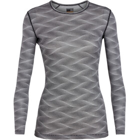 Icebreaker 200 Oasis - Ropa interior Mujer - gris